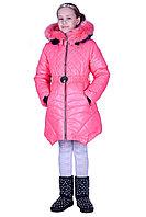 Пальто зимнее на девочку Эммили