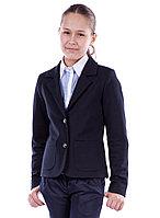 Трикотажный школьный пиджак Катрин