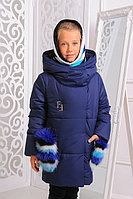 Куртка Феличе зимняя для девочки со снудом