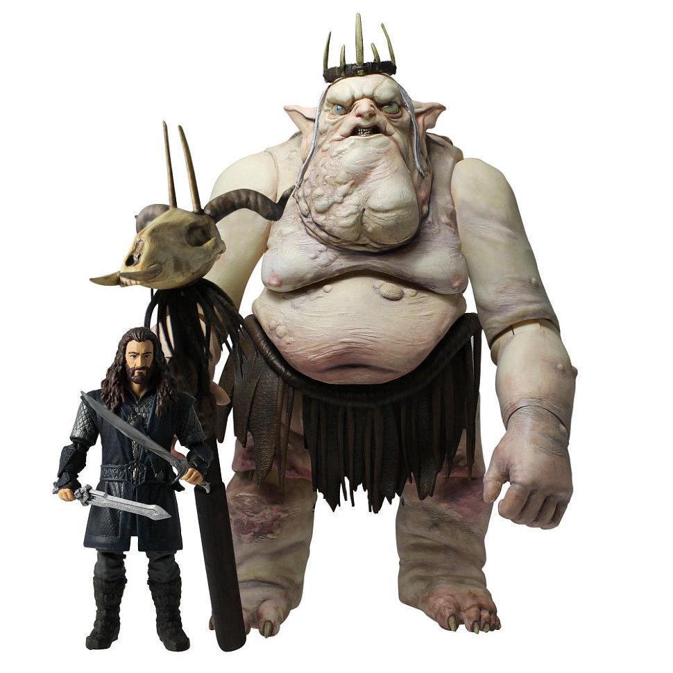"""Король гоблинов и Торин из """"Хоббита"""" в наборе с оружием"""