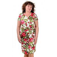 Женское льняное платье летнее Виктория