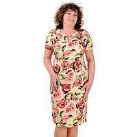 Женское льняное платье летнее София