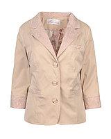 Пиджак женский с гипюром