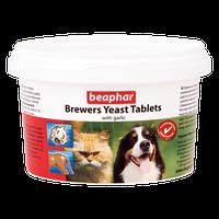 Витамины для кошек и собак.Brewers Yeast Tablets with Garlic/250т