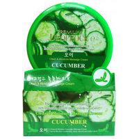 Ekel Cucumber Massage Cream - Крем для тела с экстрактом огурца для самомассажа