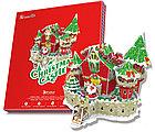 Сказочный рождественский замок ( с подсветкой ), фото 2