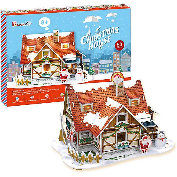 Рождественский домик 1 ( с подсветкой )