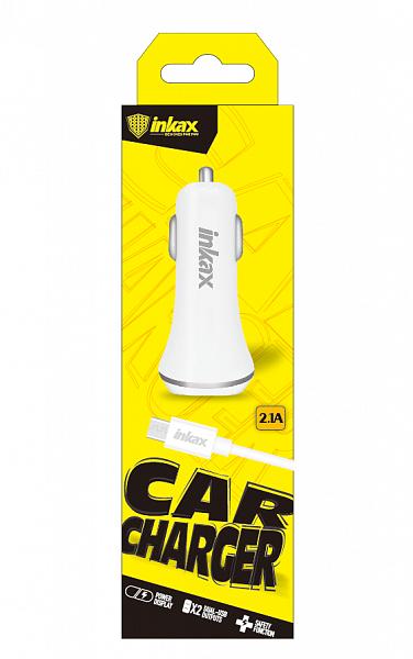 Автомобильное зарядное устройство INKAX CD-12 Micro USB 2.1A