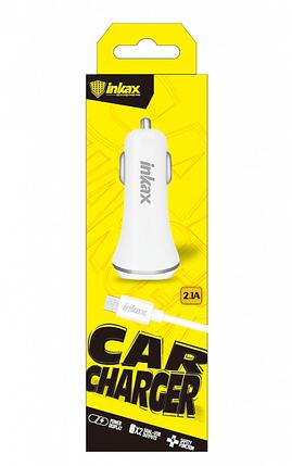 Автомобильное зарядное устройство INKAX CD-12 Micro USB 2.1A, фото 2