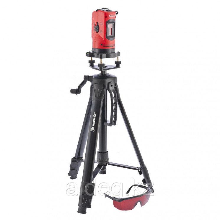 Уровень лазерный, 150 мм, штатив 1150 мм, самовырав., набор в пласт. кейсе Matrix
