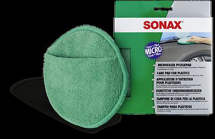 Аппликатор для пластика из микрофибры, SONAX