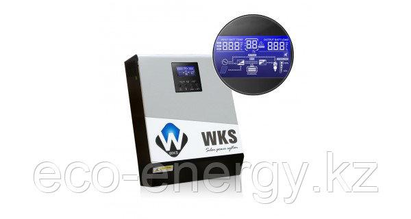 WKS гибридный инвертор со встроенным контроллером,  3 кВт 24 В 25 А