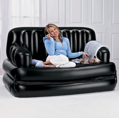 Надувное кресло диван