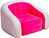 Надувное кресло диван Cafe Club Chair с велюром, фото 2