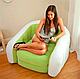 Надувное кресло диван Cafe Club Chair с велюром, фото 3