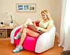Надувное кресло диван Cafe Club Chair с велюром, фото 4