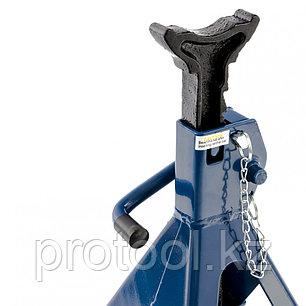 Подставки под автомобиль регулируемые, 2 т, h подъема 290-420 мм, 2 шт. STELS, фото 2