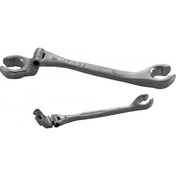Ключ гаечный разрезной с гибкой головкой, 15 мм W24A11515