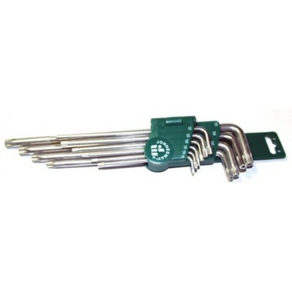H12S110S Набор ключей торцевых TORX удлиненных Т9-50, 10 предметов