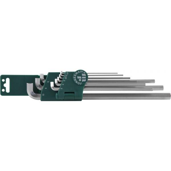 Набор ключей торцевых шестигранных для труднодоступных мест, 9 предметов H03SS109S