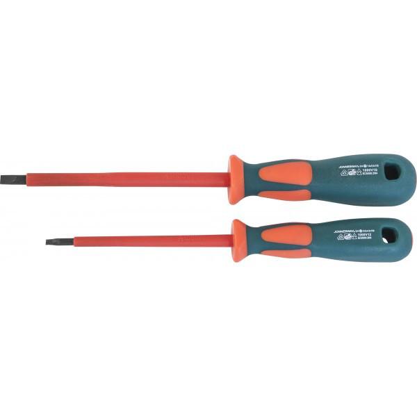 DV13S8175 Отвертка стержневая шлицевая диэлектрическая, SL8х175 мм