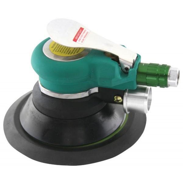 Машинка шлифовальная пневматическая орбитальная с пылеотводом 9000 об./мин., O125 мм JAS-6698-5HE