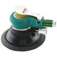 Машинка шлифовальная пневматическая орбитальная с пылеотводом 9000 об./мин.,  O150 мм JAS-6698-6HE