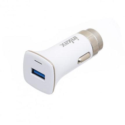 Автомобильное зарядное устройство INKAX CD-30 Type-C USB 3A, фото 2