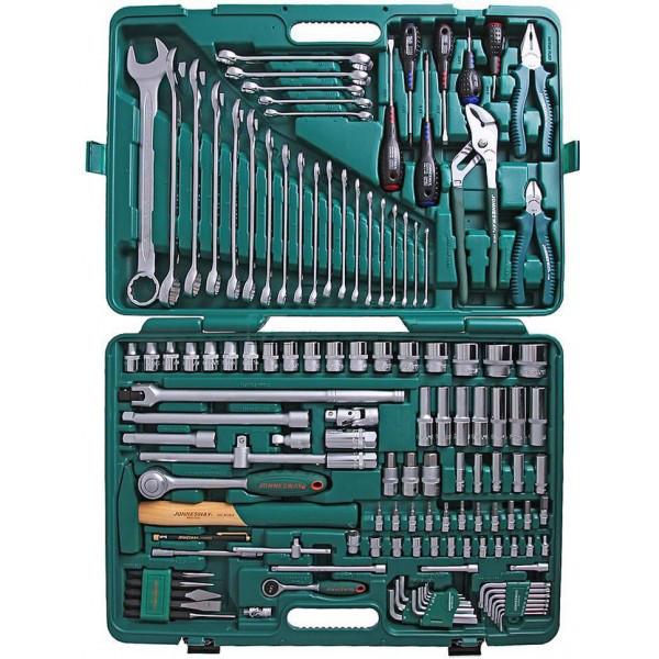 "S04H524128S (S04H524128S18) Набор инструмента универсальный 1/4"", 1/2""DR, 128 предметов"