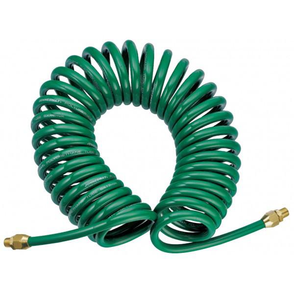 JAZ-7214F Шланг полиуретановый спиральный для пневматического инструмента 5х8 мм, 13 м
