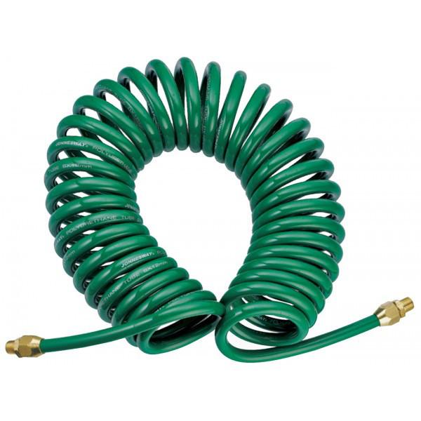 Шланг полиуретановый спиральный для пневматического инструмента 5х8 мм, 8 м JAZ-7214E