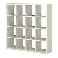 Стеллаж КАЛЛАКС белый ИКЕА, IKEA, фото 1