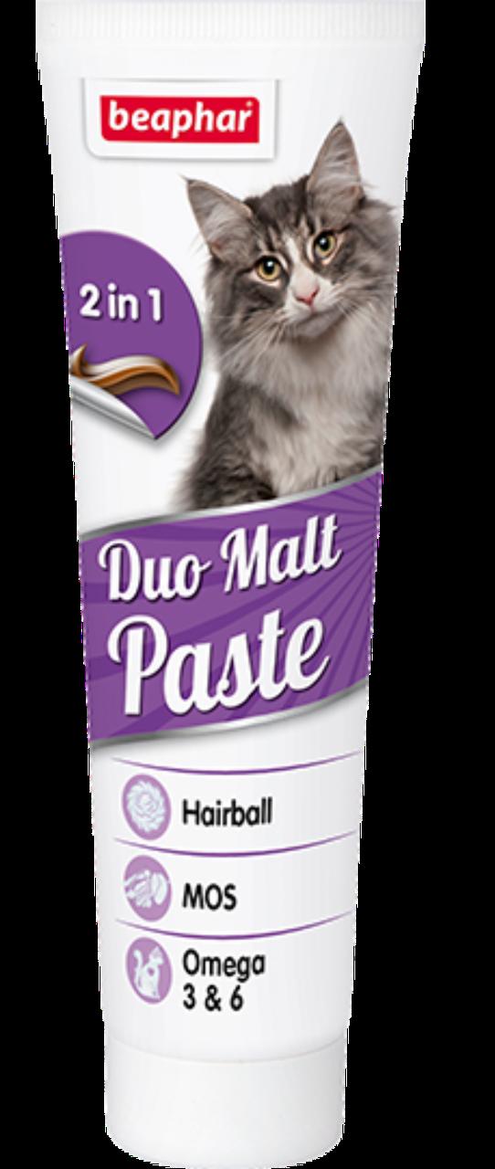 Duo Malt Paste 100 г – Средство для выведения шерсти из желудка двойного действия