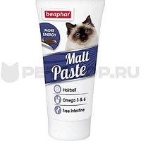 Malt Paste Omega 6 100 г - Средство для выведения шерсти из желудка кошек и котят