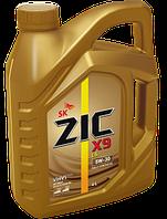 ZIC X9 LS 5W-30 - 4 ЛИТРА полностью синтетическое моторное масло премиум-класса. Для бенз. и диз. дв