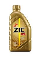 ZIC X9 LS 5W-30 - 1 ЛИТР полностью синтетическое моторное масло премиум-класса. Для бенз. и диз. дв
