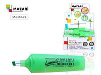 """Текстовыделитель MAZARI """"LUMUS"""", 2-5 мм, зеленый"""