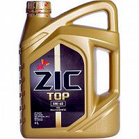 ZIC TOP 0W-40 4 ЛИТРА. Полностью синт. Мотор. масло высшего качества для бенз. и диз.