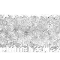 Еловая гирлянда L3,0м Белая d24см