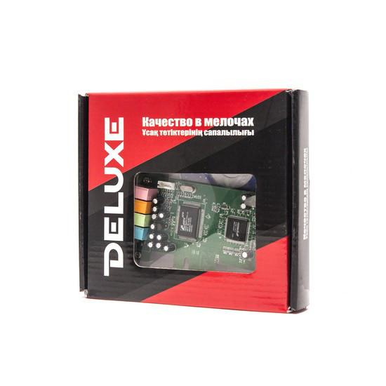 Контроллер Deluxe DLCe-S41 PCIe Звуковая карта 4.1 with Perfect 3D Sound Effect