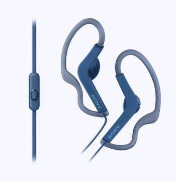 Наушники-вкладыши проводные Sony MDR-AS210 голубой