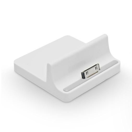 Универсальное зарядное устройство + док станция Lightning Power LP-i2898W для iPad/iPhone/iPod (30 pin) Белый