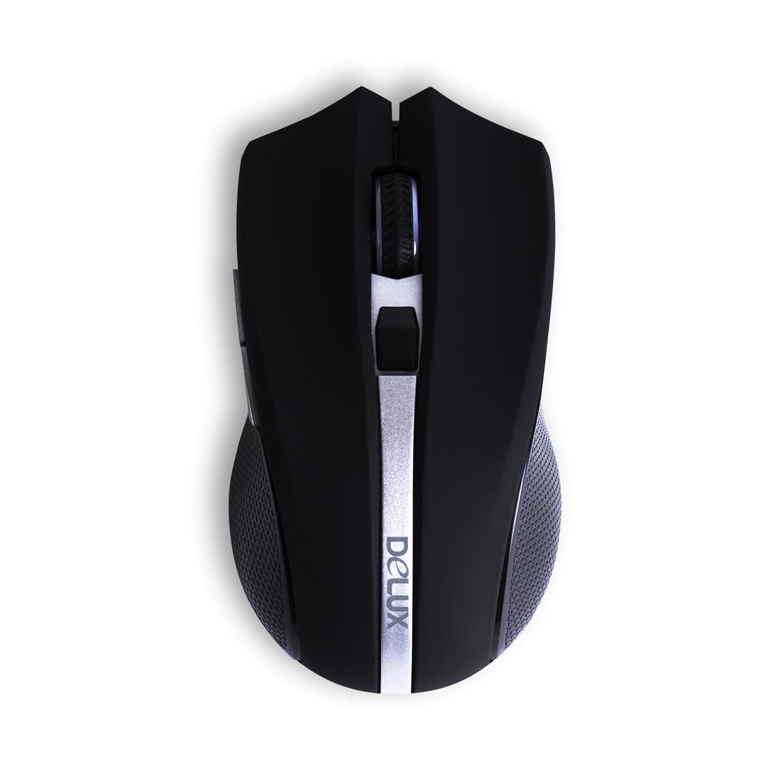 Мышь Delux DLM-516OGB 3D - фото 2