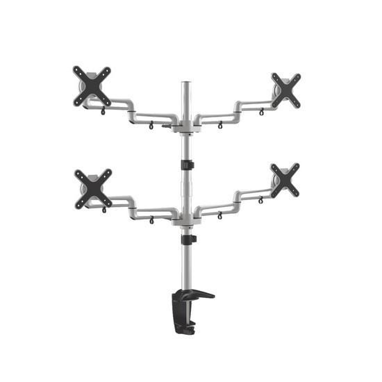 """Настольный кронштейн для мониторов Deluxe DLDM-1305 Макс. нагрузка-до 32 кг Диагональ экрана от 13"""" до 23"""""""