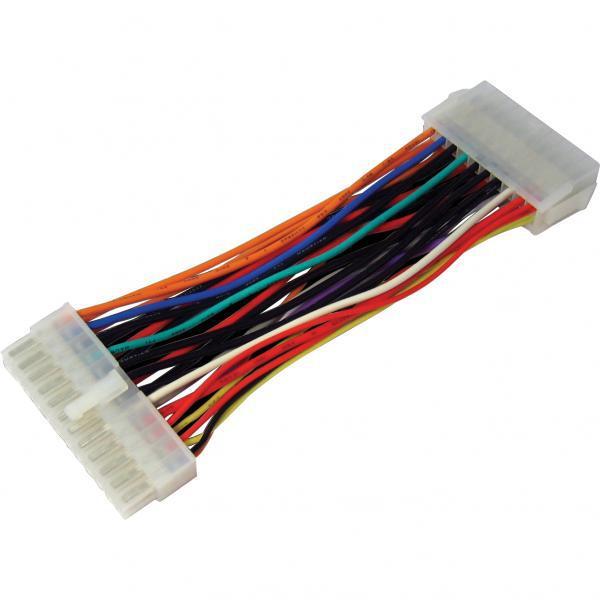 Переходник-удлинитель от блока питания 20 pin --> на материнскую плату с питанием 24 pin, 0.2m,