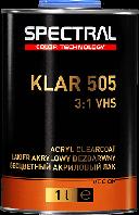 Двухкомпонентный бесцветный акриловый лак VHS Spectral KLAR 505