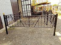Оградка на кладбище, фото 1