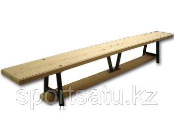 Скамья гимнастическая универсальная, длина 2м