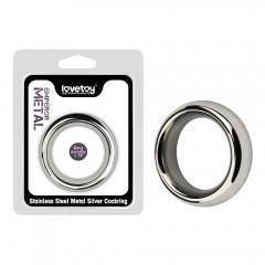 Металлическое эрекционное кольцо на пенис и мошонку