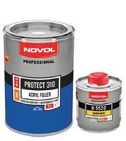 Акриловый грунт NOVOL PROTECT 310 1.0 л черный